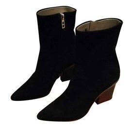 Hermès-Hermès passion boots-Black