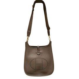 Hermès-Hermès sac Evelyne 29-Beige ... b520fa6a6c4