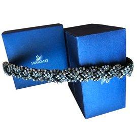 Swarovski-Bracelets-Gris anthracite