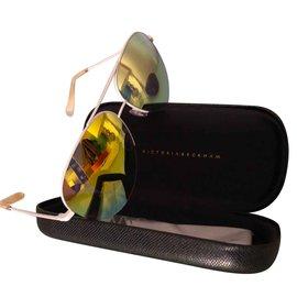 Victoria Beckham-Des lunettes de soleil-Multicolore