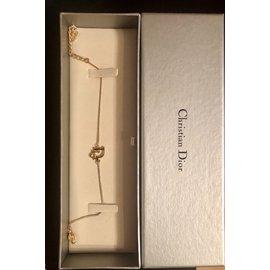 Christian Dior-Bracelet Dior oblique-Doré