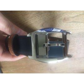 Cartier-Schildkrötengürtel-Karamell,Dunkelblau