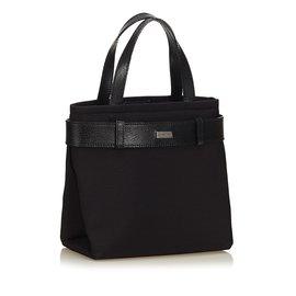 Burberry-Sac cabas en nylon-Noir