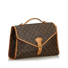 Louis Vuitton-Monogramme Beverly Porte-documents GM-Marron