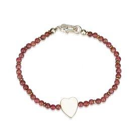 Gucci-Bracelet perlé-Argenté,Rouge,Autre