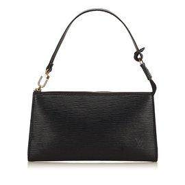 Louis Vuitton-Epi Pochette Accessoires-Noir