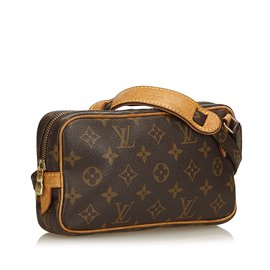 Louis Vuitton-Monogram Marly Bandouliere-Marron
