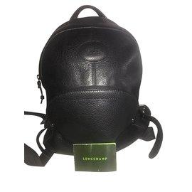 Longchamp-Sacs à dos-Noir
