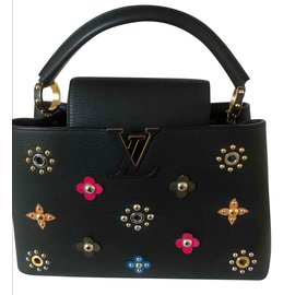 Louis Vuitton-CAPUCINES EDITION LIMITEE collector-Noir