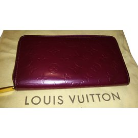 Louis Vuitton-zippy organiser-Violet