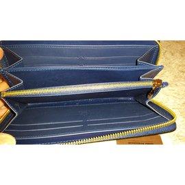 Louis Vuitton-zippy wallet-Bleu