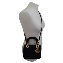 Dior-mini lady dior-Noir