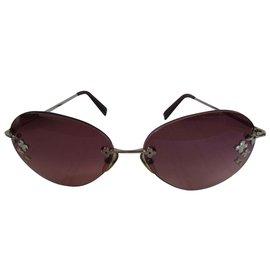 Louis Vuitton-Des lunettes de soleil-Multicolore