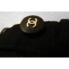 Chanel-JUPE CHANEL A-LINE-Noir