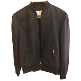 Hermès-Blazers Jackets-Dark blue