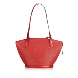 Louis Vuitton-Epi Saint Jacques Longue Sangle-Rouge