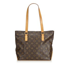 Louis Vuitton-Monogram Cabas Piano-Marron