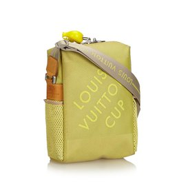 Louis Vuitton-Sac à bandoulière LV Cup Weatherly-Jaune