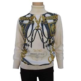 Hermès-gala bridle-Beige,Cream