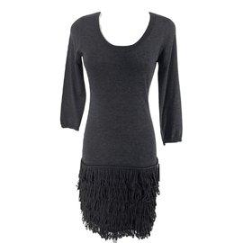 Calvin Klein-Robes-Gris anthracite