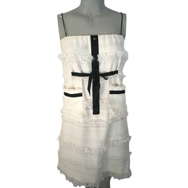 Chanel-Dresses-White