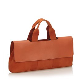 Hermès-Valparaiso Long PM-Orange