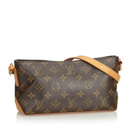 Louis Vuitton-Monogram Trotteur-Marron