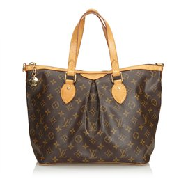 Louis Vuitton-Monogramme Palermo PM-Marron
