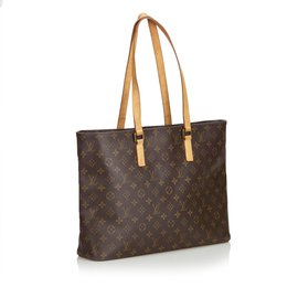 Louis Vuitton-Monogramme Luco cabas-Marron