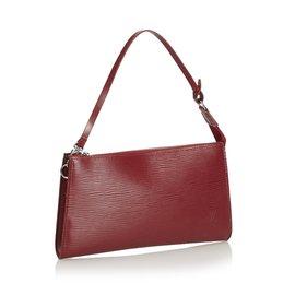 Louis Vuitton-Epi Pochette Accessoires-Rouge