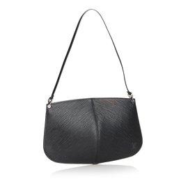 Louis Vuitton-Pochette Epi Demi Lune-Noir
