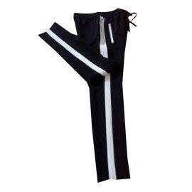 Barbara Bui-Pantalons, leggings-Noir