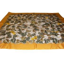 Hermès-l'arbre de soie-Vert,Jaune
