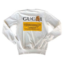 Gucci-Sweatshirt Gucci Chat Noir-Multicolore