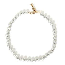 Chanel-gray pearl set-Grey