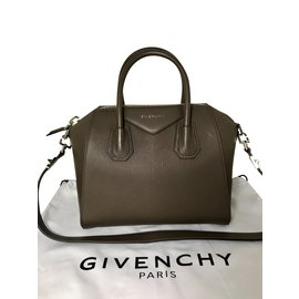 aecbd4f497 Givenchy-GIVENCHY ANTIGONA SMALL HEATER GRAY BREND NEW WITH TAG-Dark grey  ...