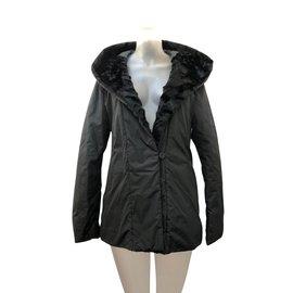 Pennyblack-Manteaux, Vêtements d'extérieur-Noir