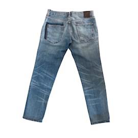 Dolce & Gabbana-jeans slim-Bleu