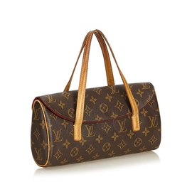 Louis Vuitton-Monogramme Sonatine-Marron