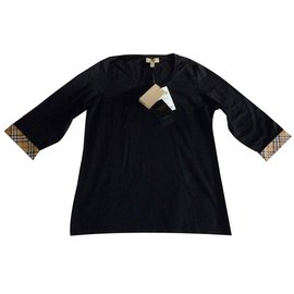 Burberry-New Burberry tunic t-shirt-Black