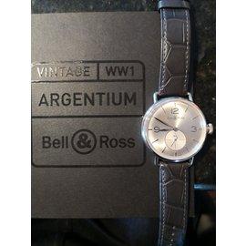 Bell & Ross-Bell & Ross Vintage WW1 Argentium Silver-Silber
