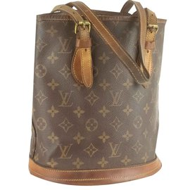 Louis Vuitton-Bucket PM-Marron