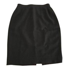 Emmanuelle Khanh-Emmanuelle Khanh skirt 40 black-Black