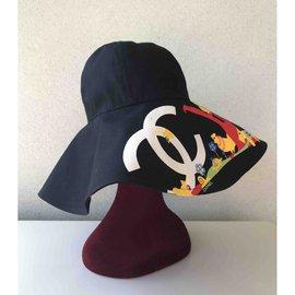 Chanel-hat-Black
