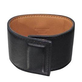 Hermès-Bracelet CDC Hermes Black Shadow.-Noir