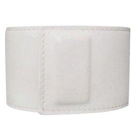 Hermès-Bracelet CDC Hermes White Shadow.-Blanc