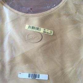 Longchamp-Sac shopping Longchamp Nylon-Caramel