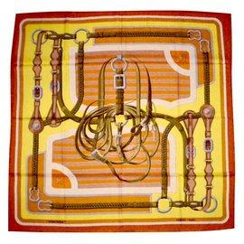 Hermès-COACHING (Cashmere & Silk)-Multiple colors