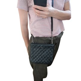 Chanel-uniform crossbody-Black