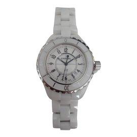 Chanel-CHANEL J WATCH12-White